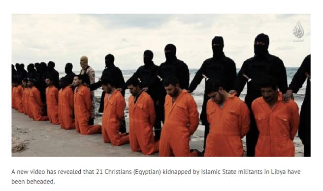 Christians Beheaded